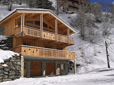 Photo for Chalet La Fontanette, new build of 2016