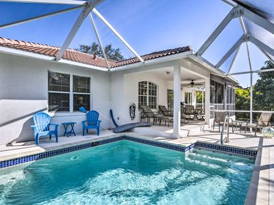 Photo for Marco Island House w/Private Pool & Patio!