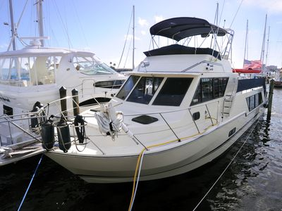 Photo for Stunning 52 Foot Yacht Located At Regatta Pointe Marina On The Manatee River