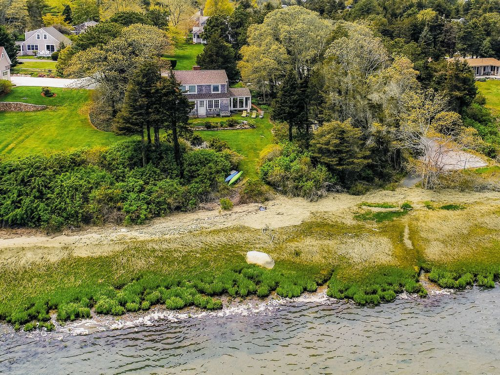 Charming Waterfront Cottage W Views Fireplace Deck