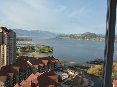 Photo for Soaring View Over Kelowna - New Condo Near Downtown