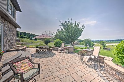 Stunning views and outdoor entertainment await at this vacation rental.