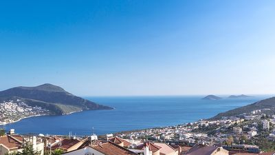 Photo for Villa Bianca Trio is one of three identical villas in Kalkan's Kiziltas.