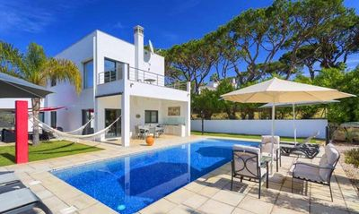 Photo for Modern and bright two bedroom villa with pool PV13