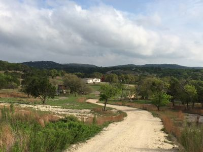 Photo for 10+ Acres - Dripping Springs - TX Hill Country Rental with beautiful views!