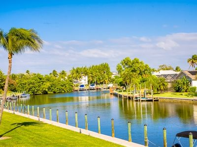 Photo for Canal front Complex Located on Causeway Road in Sanibel - Tennisplace E21