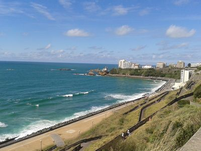 Photo for A ANGLET, RENT furnished Studio 30 m2 ground floor with terrace