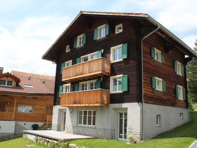 Photo for Apartment Ferienwohnung Huber in Sedrun - 5 persons, 3 bedrooms