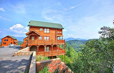 Photo for Happy Place | Sweeping Mountain Views | Peaceful | Amenities Galore! | Hot Tub | Pool Access