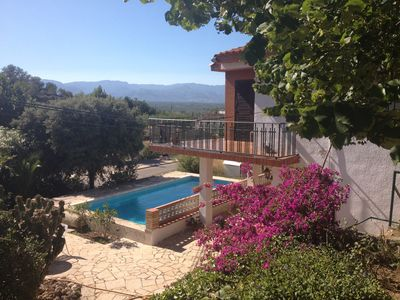 Photo for HUTTE-1960 Mediterranea House with garden and pool on 3ha estate