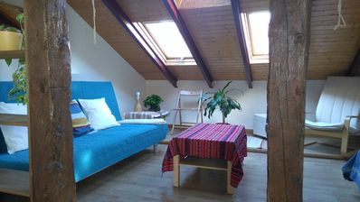 Photo for PEACEFUL ATTIC WITH A/C IN THE CENTER OF MADRID