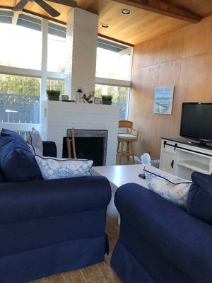 Photo for Seaview 3 bedroom - all new furniture - great deck - 400 feet from ocean