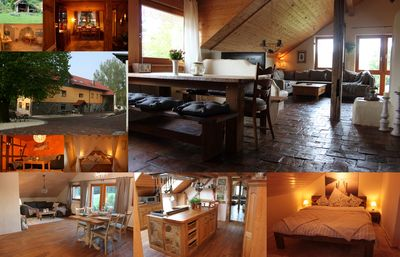 Photo for 4 apartment on ehem. Farm 'Lindenhof-Bergenhausen', holiday with dog and horse