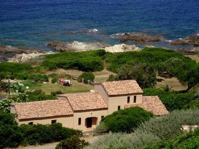 Photo for Seaside ''on the beach'' holidays house 12 km from ajaccio