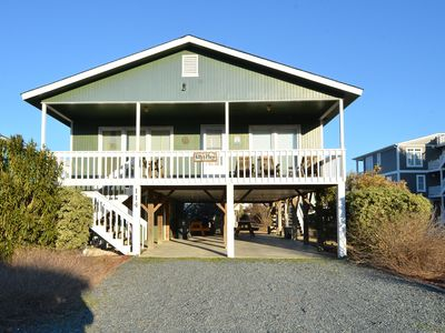 "Photo for Yes You Can - June 15th-June 22nd - Vacation For Less Than $1000!  ""Kitty's Place"" is a Fantastic Beach Cottage with Easy Beach Access directly across Ocean Blvd West!"