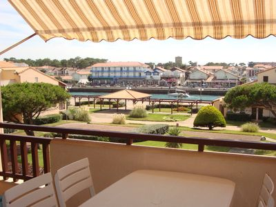 Photo for Exceptional location, 2-room apartment with sea view, covered terrace 8 m2 south