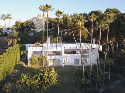 Photo for Modern villa with exceptional sea views, close to everything in the Golden Mile
