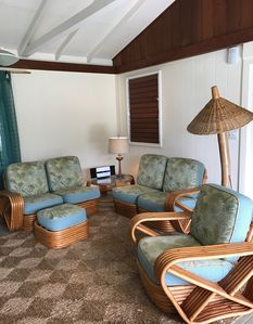 Photo for Renovated 1947 Hawaiian Style Redwood Home in Kailua town
