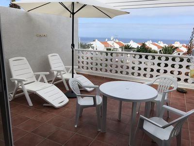 Photo for Sea View Apartment Villas Canarias