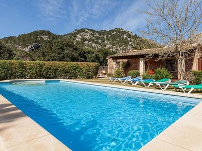 Photo for LOVELY VILLA NAVARRO PRIVATE POOL WITH FANTASTIC MOUNTAINS VIEWS FAMILY FIENDLY