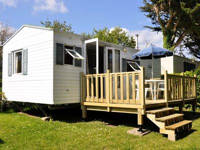 Photo for Camping Le Raguenès Plage **** - Cottage Modesty 3 Rooms 4 People