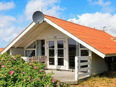 Photo for Roofed Holiday Home in Jutland with garden with barbecue