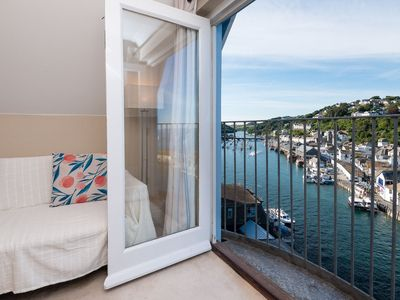 Photo for Modern apartment with fabulous views, close to town and beach.