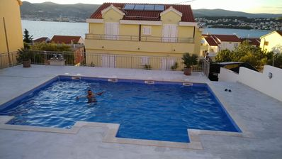 Photo for Holiday apartment 150 m from the beach with sea view