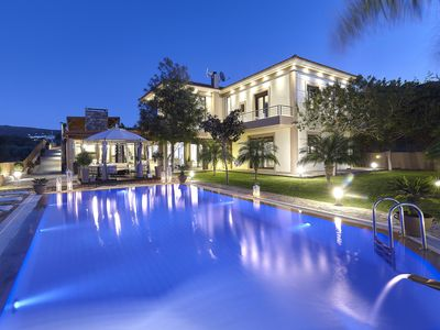 Photo for Villa Thea with a heated indoor pool close to the beach