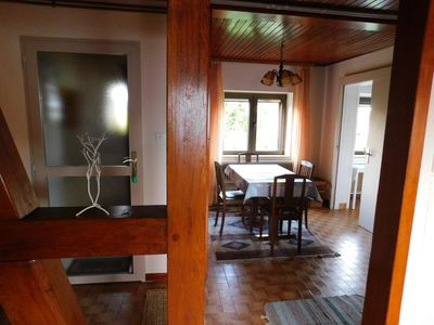 Photo for Rent cottage in Ostheim, furnished on the 1st floor of an independent annex classified ***