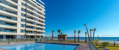 Photo for Luxury New Ocean Front Apartment with 3 Pools