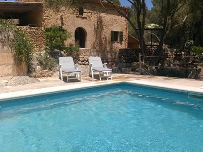 Photo for BEAUTIFUL OLD HOUSE IN MALLORCA WITH SWIMMING POOL