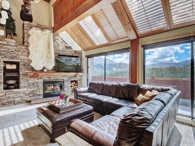 Photo for Unique 6 Bedroom Condo Right by the Lift with Ski School and Resort Amenities