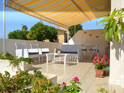 Photo for Sea, sun, relaxation veranda for the family - Free parking, free wi-fi
