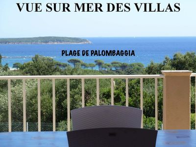 Photo for INDEPENDENT VILLAS 600 m from the PALOMBAGGIA Beach PANORAMIC VIEW OF THE M