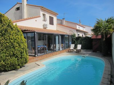 Photo for Villa with private pool, 400 m to beach, 1 km to golf
