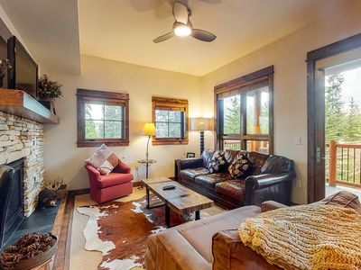 Photo for Cozy Breckenridge home next to Snowflake lift w/ shared hot tub & pool!