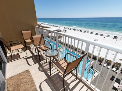 How amazing is this view? - Awesome view of the beach as well as the pool area