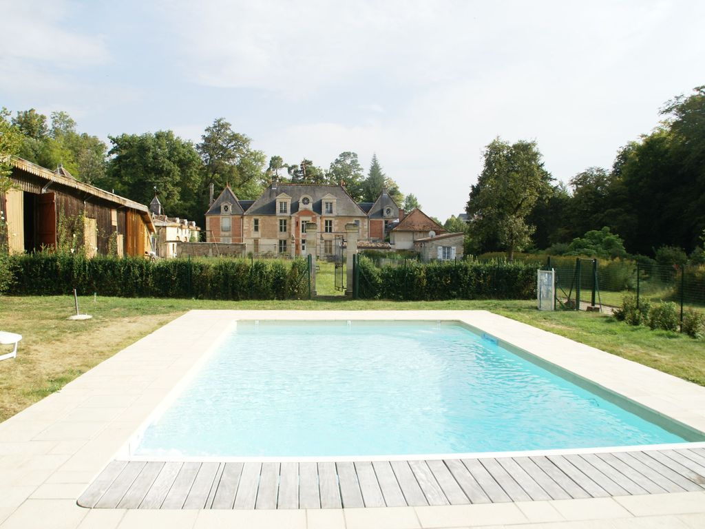 Holiday Home With Swimming Pool In Noble Castle With Estate Near Nettancourt Nettancourt Meuse