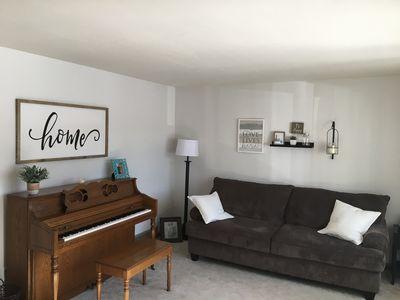 Photo for Spacious 3 bedroom home with game and theater room