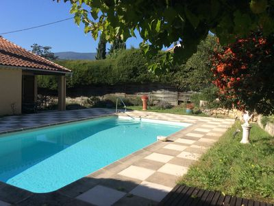 Photo for VILLA 3 BEDROOMS WITH SWIMMING POOL NEAR VILLAGE