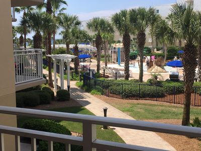 Photo for A328 Your Waterscape Fanta Sea 1BR/Bunks Overlooking Courtyard Plus Gulf Views