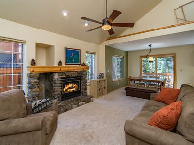 Photo for Truckee Condo with Private Hot Tub - Access 5-star Tahoe Donner Amenities