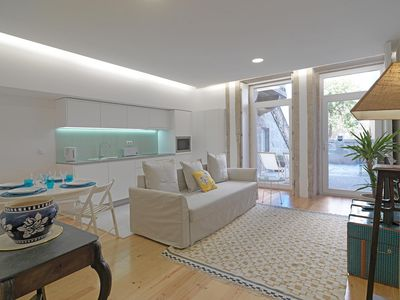 Photo for República Modern I apartment in Santo Ildefonso with WiFi & shared terrace.