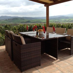 Photo for Villa Bel Sogno - Beautiful View Of Volterra And The Countyside. Sleeps 4-6!