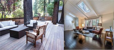 Photo for MidCentury Home In The Redwoods, 10 mins into dwntwn MV, 15 mins to SF
