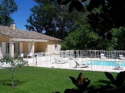 Photo for Beautiful property - heated pool - 5000 m² garden with trees - St Rémy de Provence