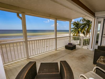 Photo for Exquisite Beachfront Home Fully Remodeled - One-of-a-Kind Home on the island