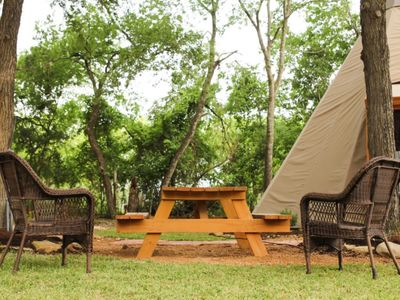 Photo for Reservation on the Guadalupe - Tipi 4 Red Cloud