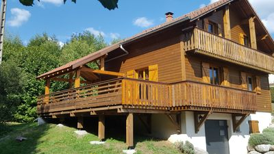 Photo for Comfortable 4 star cottage, 10 people, 10 minutes from Gerardmer, Wifi, Sauna